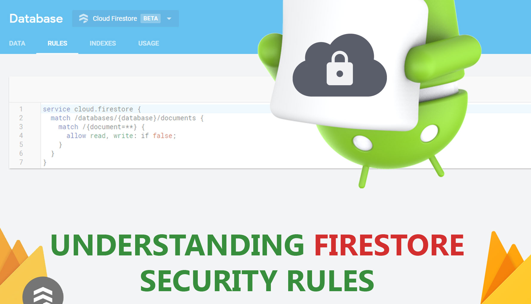 Understanding Cloud Firestore Security Rules