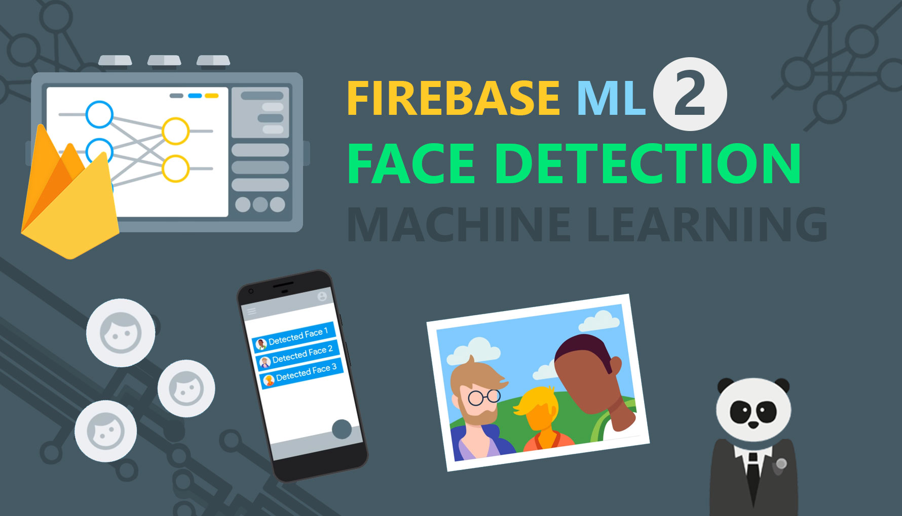 Firebase ML Kit 2: Face Detection