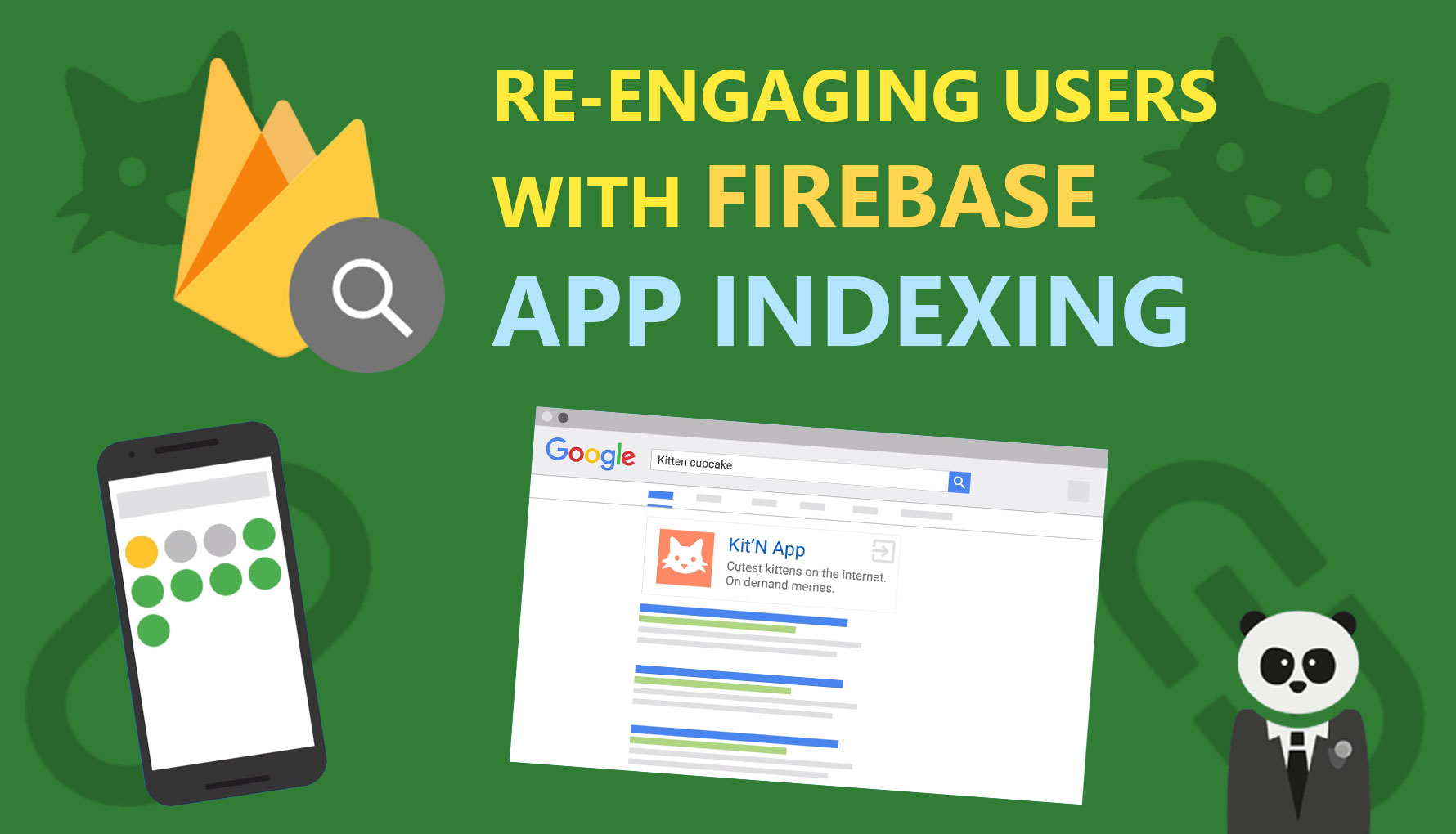 Re-engage Users through Google Search with Firebase App Indexing (Android)