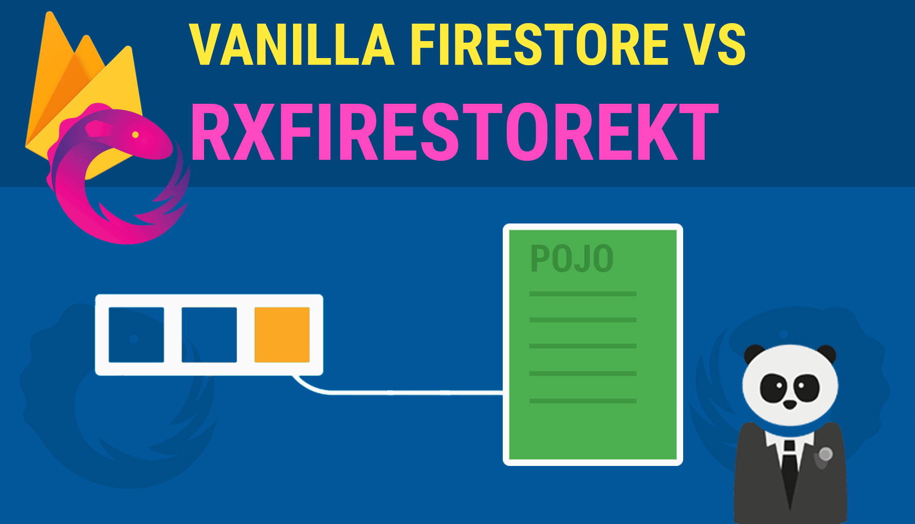 Vanilla Firestore vs RxFirestoreKT