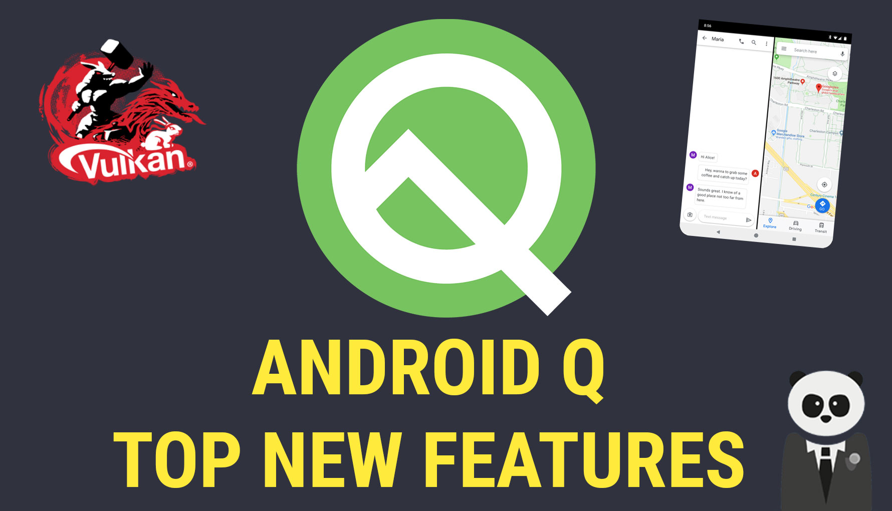 Android Q Top New Features (as of Beta 2) and what they mean for Developers