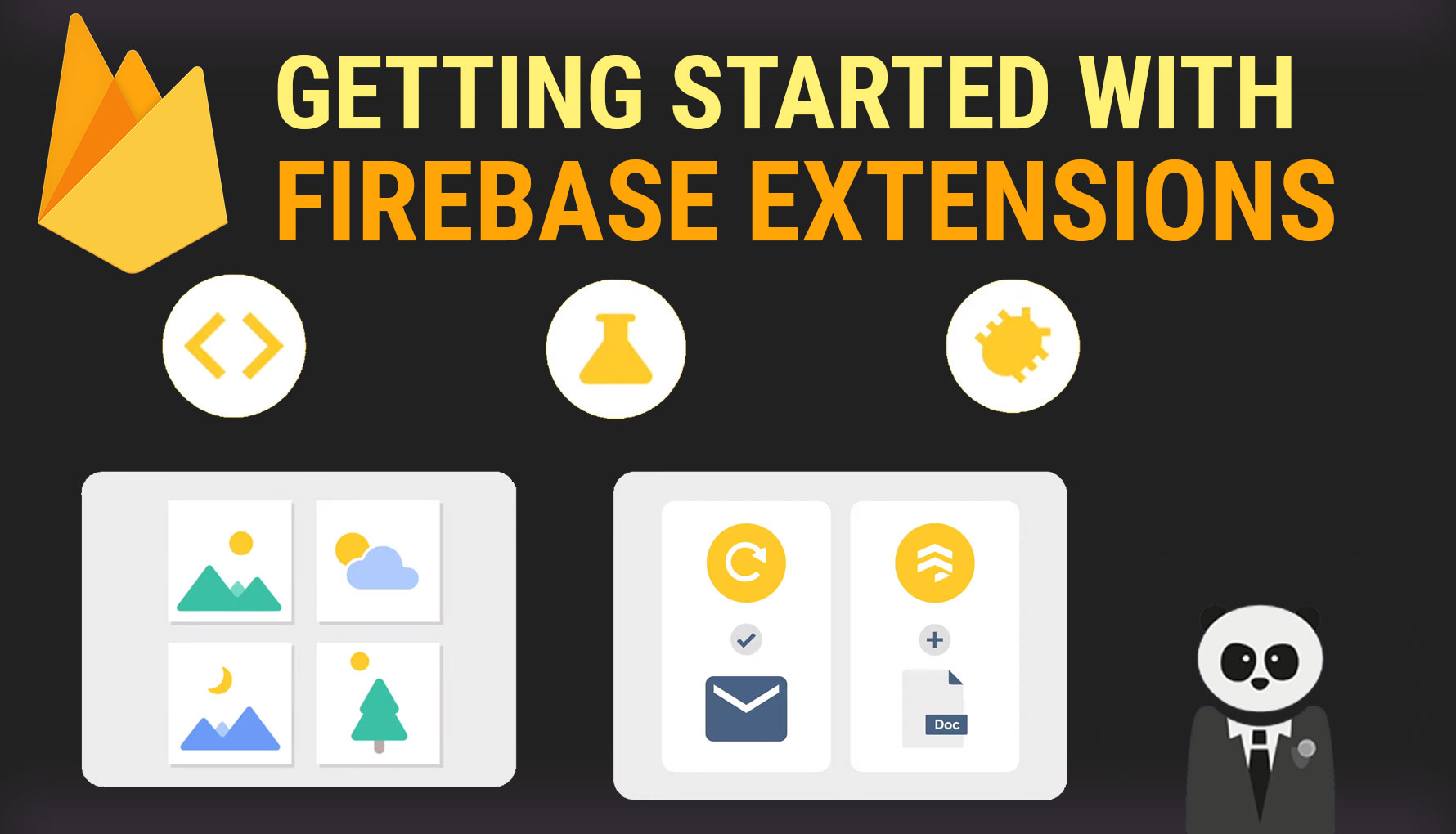 Getting Started with Firebase Extensions for Android (Firebase Console Edition)