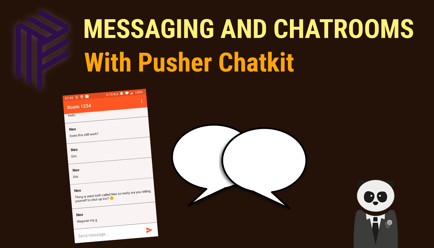 Instant Messaging and Chatrooms on Android with Pusher Chatkit