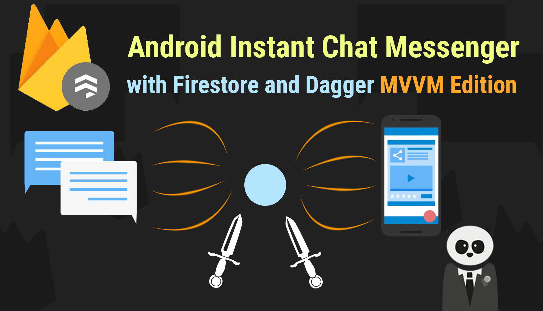 Android Chat Messenger with Firestore (MVVM Edition) with Dagger, LiveData, and Coroutines