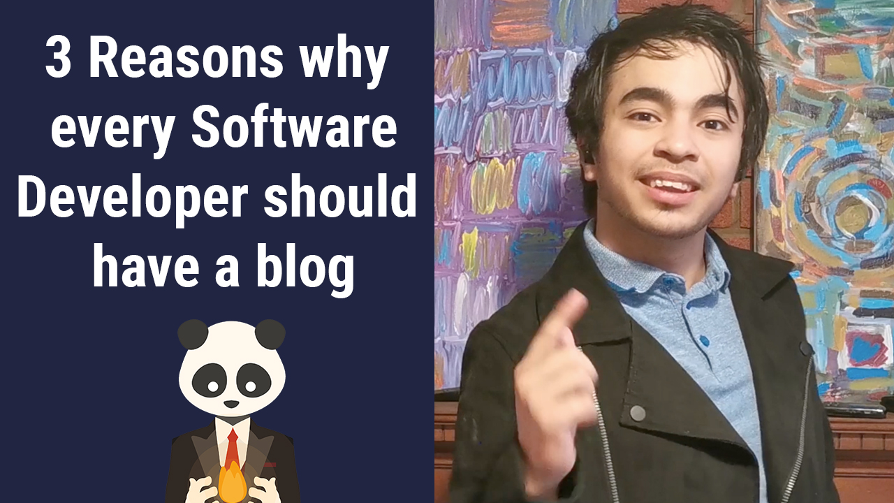 3 Reasons why EVERY Software Developer should have a blog